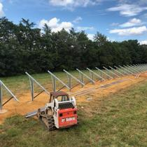 53kW Ground Mount in Process - Unirac GFT - Looks great!