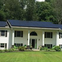 Pine Bush/ SolarWorld 280 Black on Black modules