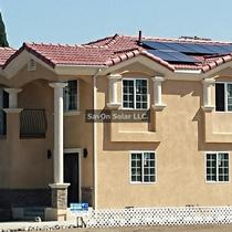 Newly Built home with 2.1 KW solar install.