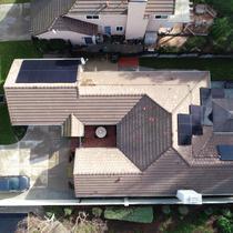 Flat Tile Roof Installation