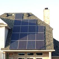 Late in the day after getting this 4.24kW system up in under 10 hours.