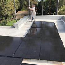 Flat roof installation in Encino. Thank you Chuck !!!