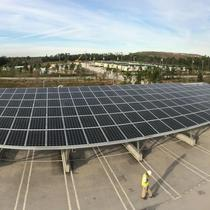 Solar Carport Install by Solar Direct