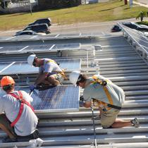 Our Solar Professionals at Work