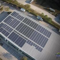 Solar Direct Office Solar PV System - Arial View