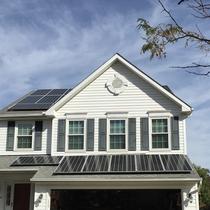 A happy solar client