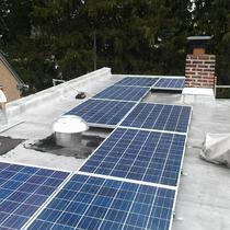 Solar Electricity on a Philadelphia Rowhome