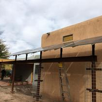 Custom Shade solar structure