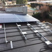 2ND ROOF OF 10KW SYSTEM
