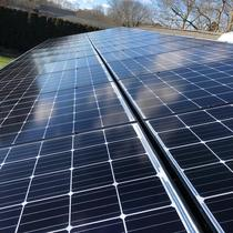 P.V. Solar Install Located In Bay Shore, NY