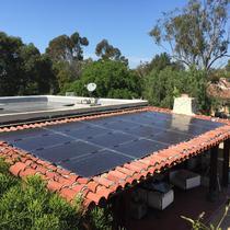 Jensen Solar System, Rancho Santa Fe, CA 25.4 kW