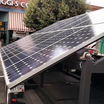 Portable Solar Trailer