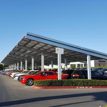 131 kW Carport for Car Dealership