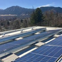 7.84 Ballast mount on flat roof in Boulder, CO
