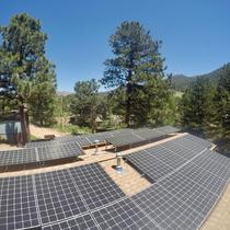 9.8kW Tilt system in Estes Park, CO