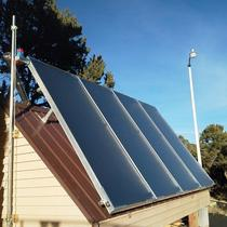 4 panel solar hot water system