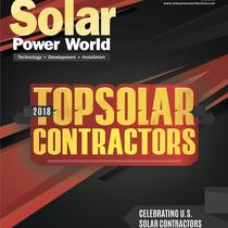Selected as 2018 Top Solar Contractor