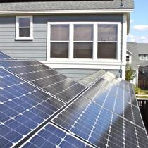 Residential Solar Close Up