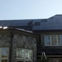Residential PV System at Alpine NJ