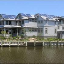 LEED Platinum Project with PV, Solar Thermal & Rainwater Harvesting