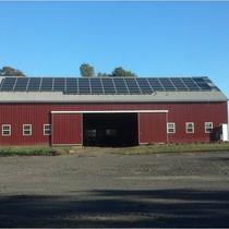 Solar PV on Farm barn near Trenton in PA