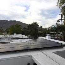 Foam roof installation