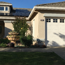 Residential Solar Plant! Happy Customers!