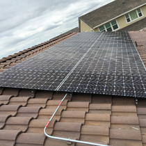 Look at the quality of this solar panel - LG PERFECTION