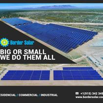Solar Farm by Border Solar w/Sunpower