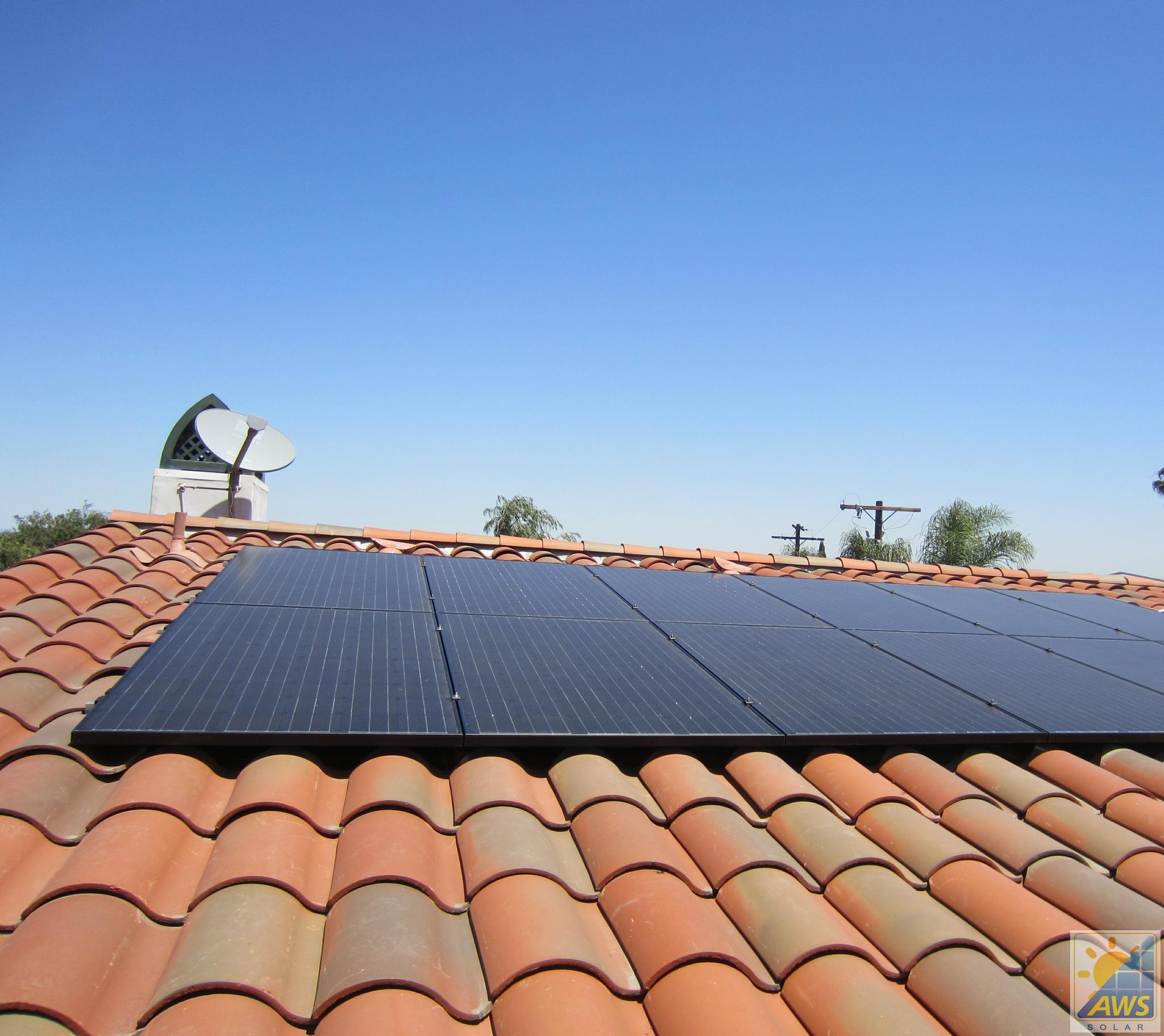4.5 KW Tile Roof Solar System
