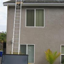 Caution Solar Installation in Progress