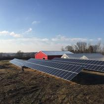 Solar powered college Agriculture department