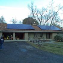 Residential solar electricity
