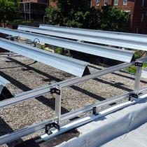 How Rails are Installed on a DC Rowhouse