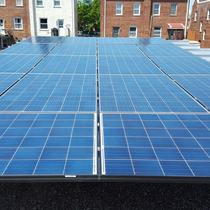 Solar on DC Rowhouse