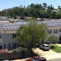 DC Solar Neighborhood Installed by Solar Solution