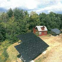 In October 2014, Earthlight installed a 11 kW solar ground mount system in Tolland, CT.