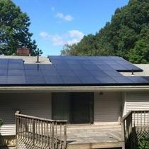 In June 2014, Earthlight installed a 13.25 kW solar power system on the roof of a home in Tolland, CT.