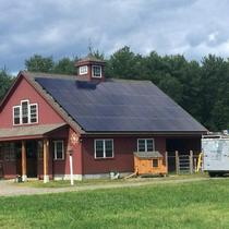 In June 2014, Earthlight installed a 12 kW solar power system on the roof of a home in Tolland, CT.
