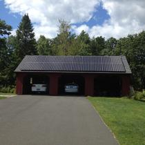 In June 2014, Earthlight installed a 6 kW solar power system on the roof of a home in Tolland, CT.