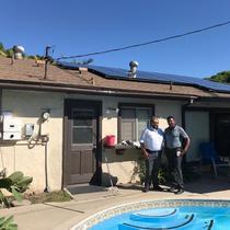 Santa Ana, CA Solar Installation