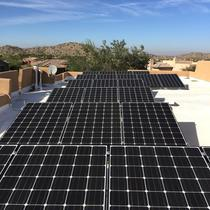 11.0kW Flat Roof Installation