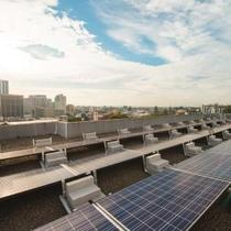 Sungevity Commercial Solar Installation Residential Apartment Building, Oakland, CA