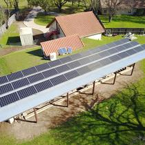 Custom designs increase solar production on low slope roofs