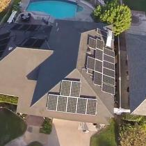 Drone Photo of Install