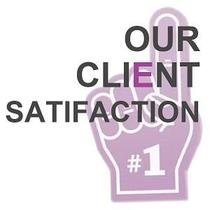 #1 in Client Satisfaction!