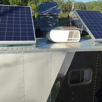 500 Watt Solar, 3Kw Inverter, 480Ah SLA Battery Bank, Mobile Trailer