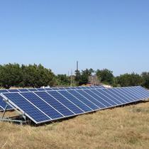 12Kw Solar Custom Ground Mount - Grid Tie Texas