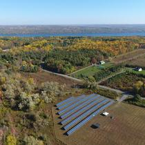 The first CDG Solar Farm in New York State