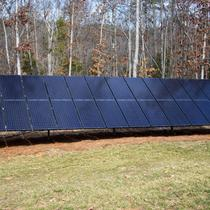 Solar Electric Ground Mount